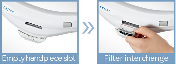 Interchangeable ipl filter - smoothcool